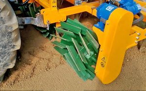 soil fumigation machine